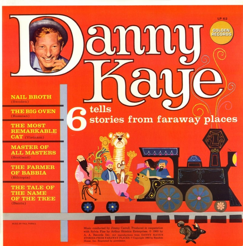 LP62 - 6 Stories from Faraway Places - Danny Kaye on CD