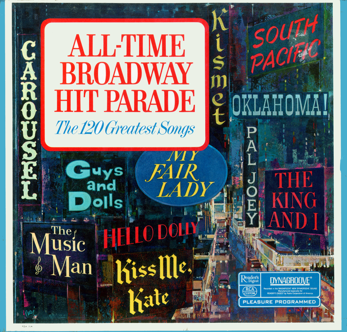 RDA35 - All-Time Broadway Hit Parade on CD