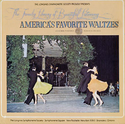 LWS968 - America's Favorite Waltzes - Family Library of Beautiful Listening Vol 12 on CD