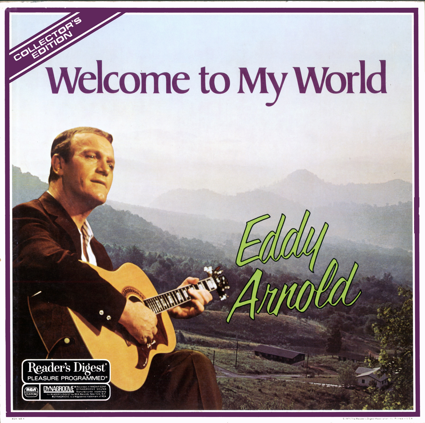 RDA168 - Arnold, Eddy - Welcome To My World on CD