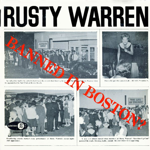 2049 - Warren, Rusty - Banned In Boston? - on CD