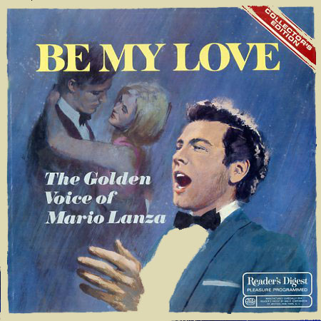 RDA73 - Be My Love - The Golden Voice of Mario Lanza on CD