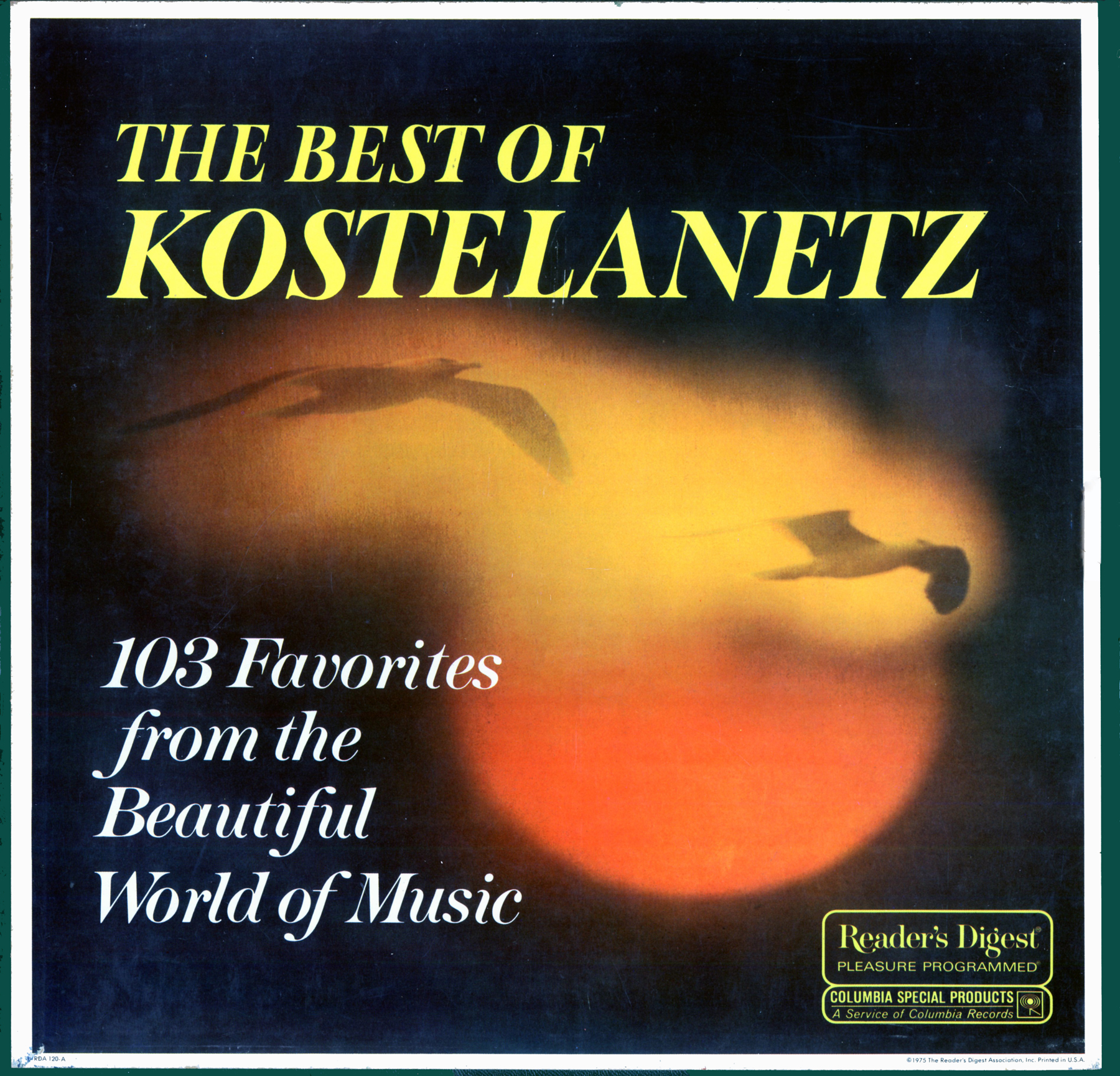 RDA120 - Best of Kostelanetz on CD