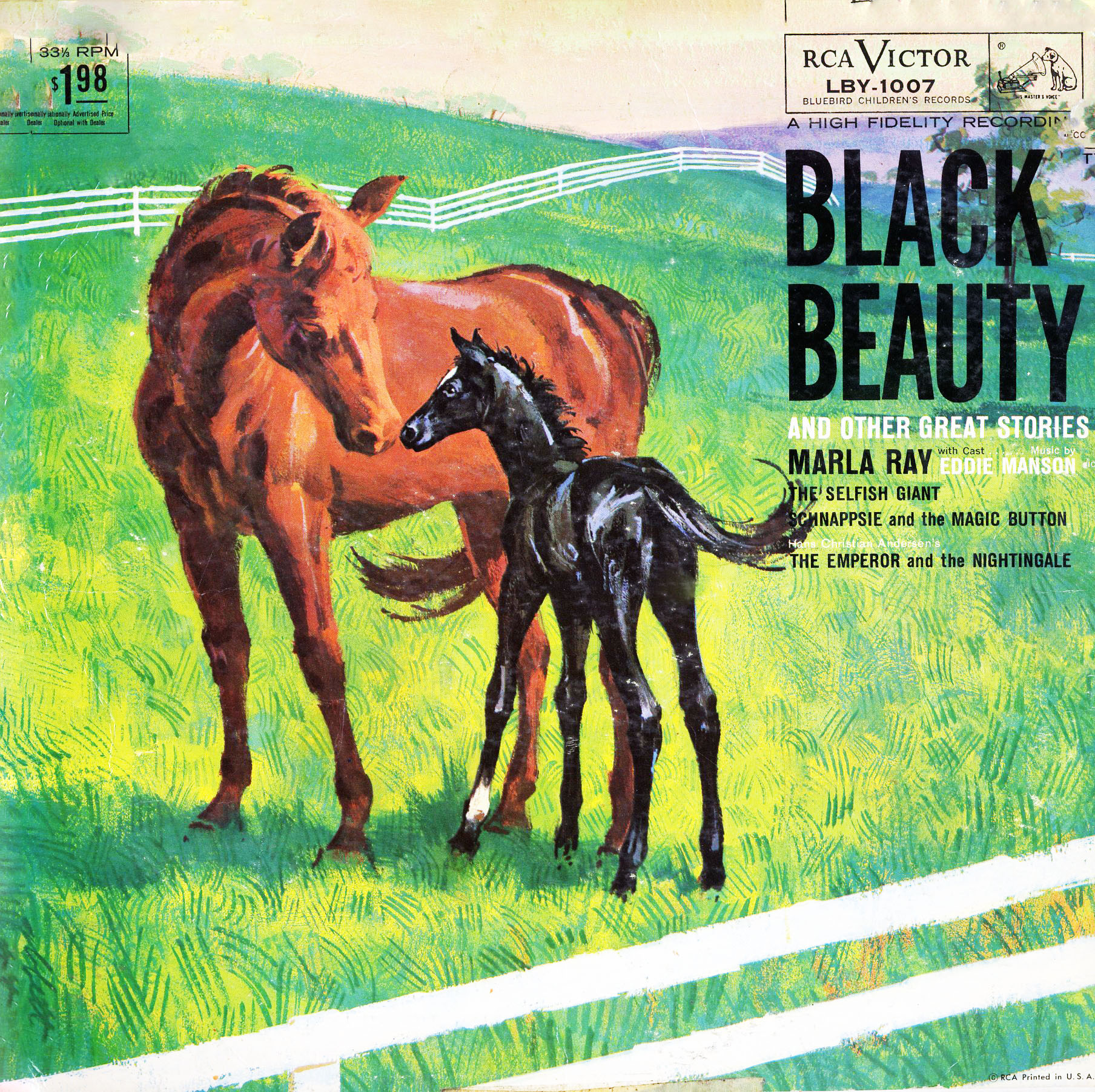 LBY1007 - Black Beauty on CD