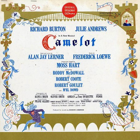 KOL5620, KOS2031 - Camelot on CD