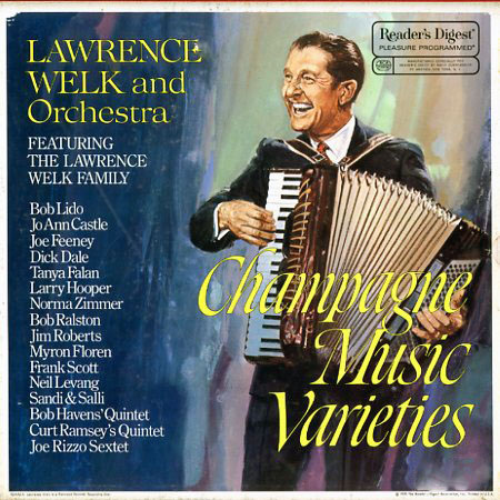 RDA95A - Champagne Music Varieties - Lawrence Welk on CD