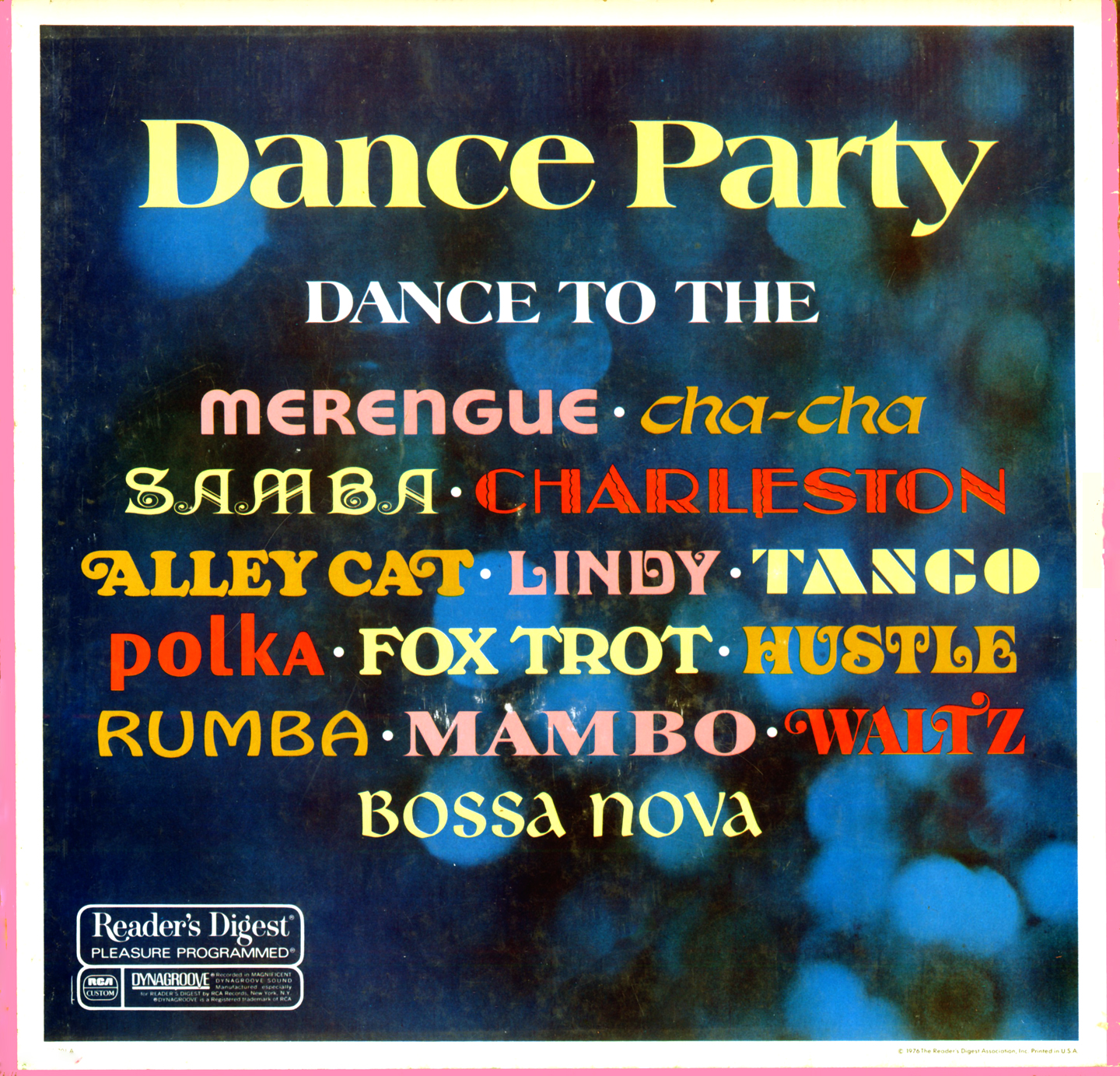 RDA201 - Dance Party on CD