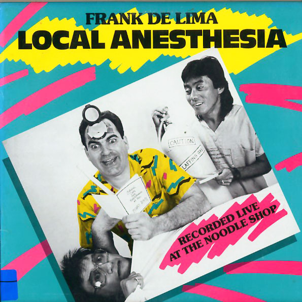 PP110 - DeLima, Frank - Local Anesthesia - on CD