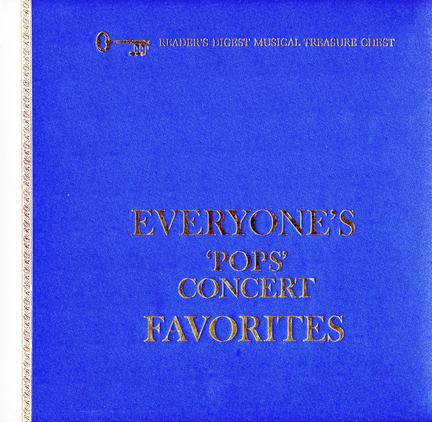 "RD536 - Everyone's ""Pops"" Concert Favorites on CD"