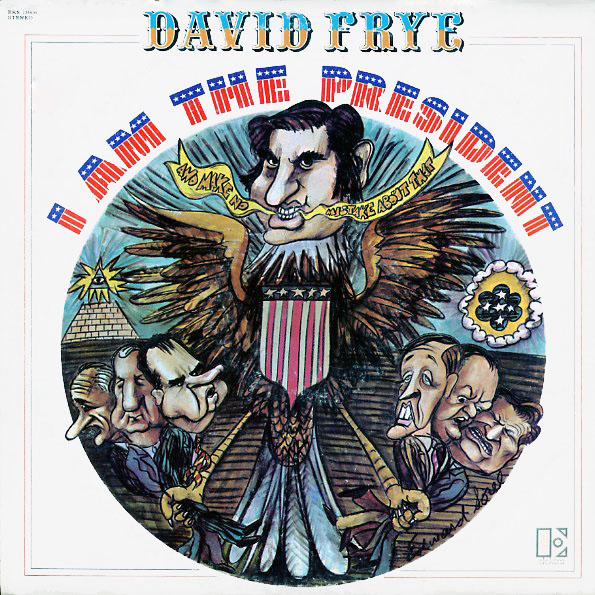 EKS75006 - Frye, David - I Am The President - on CD