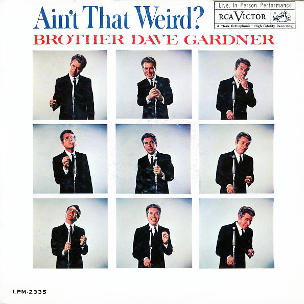 LPM2335 - Gardner, Brother Dave - Ain't That Weird - on CD