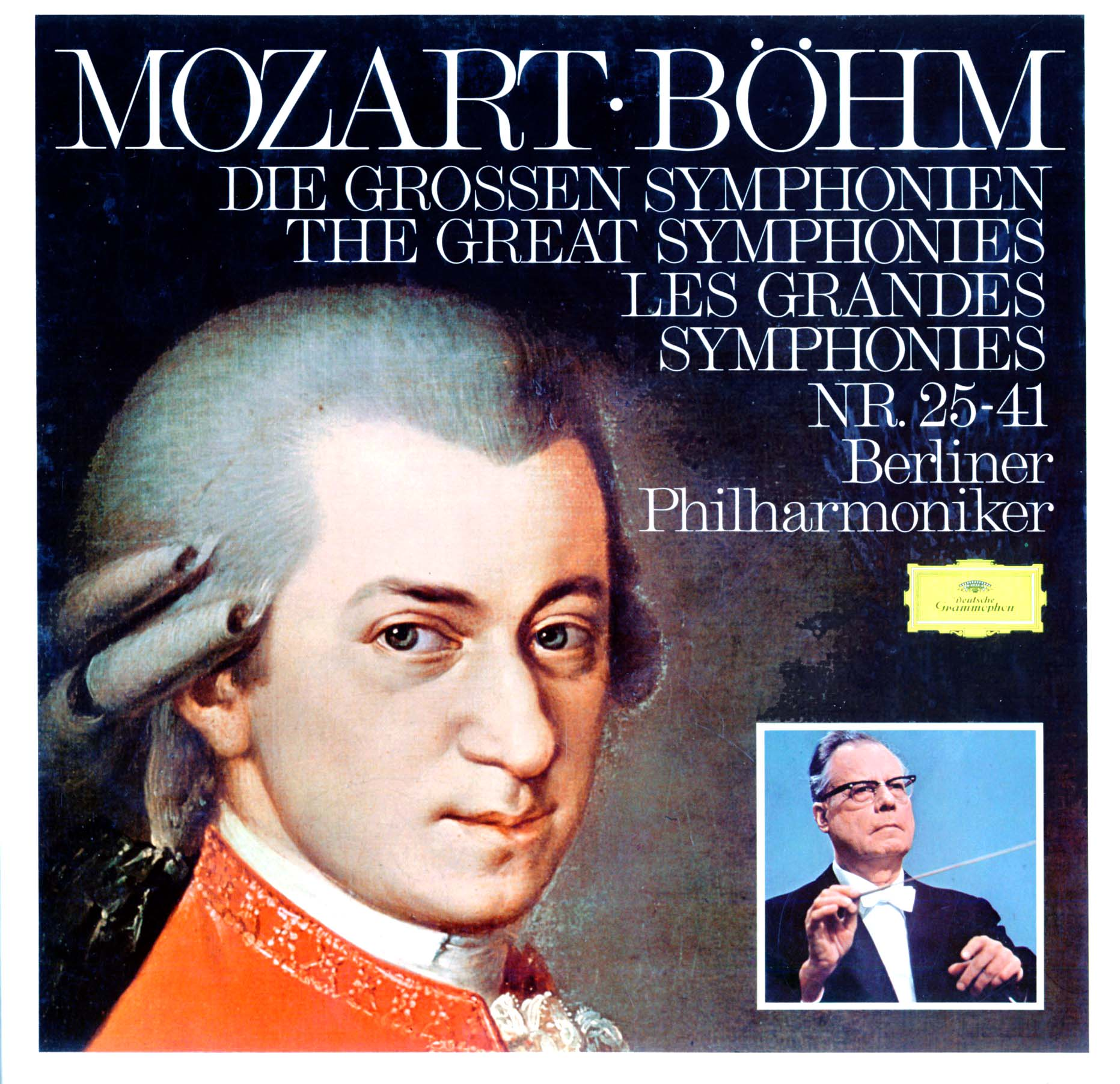 2563334 - Berliner Philharmoniker - Mozart Bohm Die Grossen Symphonien on CD