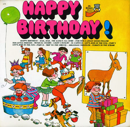 SPC5118 - Happy Birthday on CD