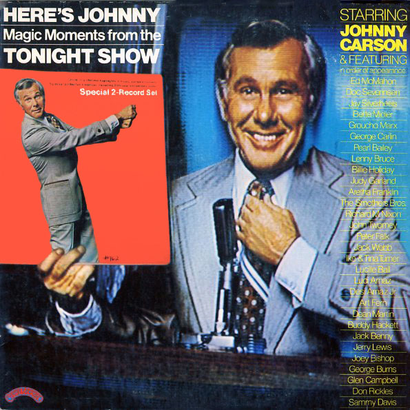 SPNB1296 - Carson, Johnny - Here's Johnny - Magic Moments from the Tonight Show