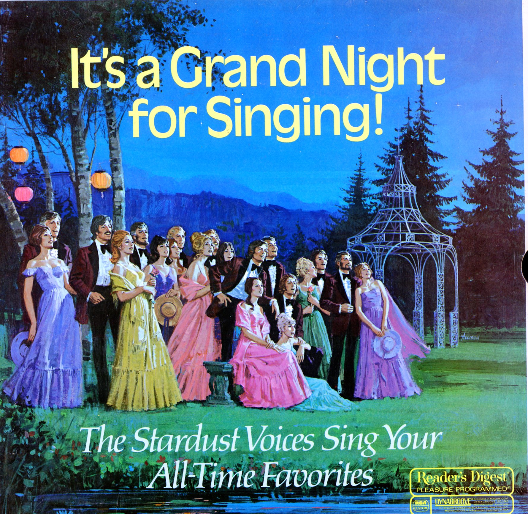 RDA136A - It's A Grand Night For Singing - The Stardust Voices Sing Your All-Time Favorites