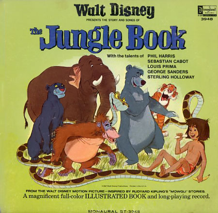 ST3948 - Jungle Book Soundtrack Complete Story, Songs, and Music on CD