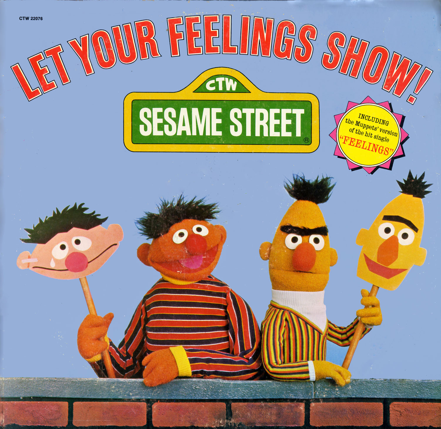 CTW22076 - Let Your Feelings Show on CD