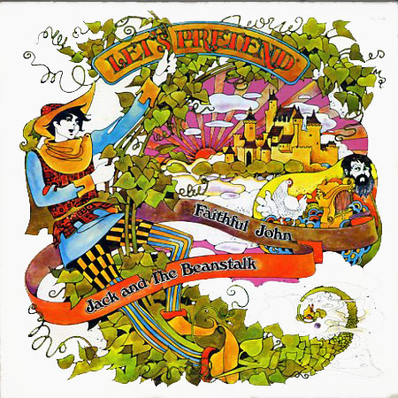 TG116 - Let's Pretend - Faithful John, Jack and The Beanstalk on CD