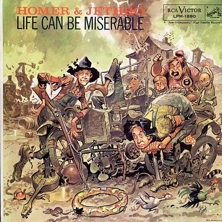 LPM1880 - Homer and Jethro - Life Can Be Miserable on CD