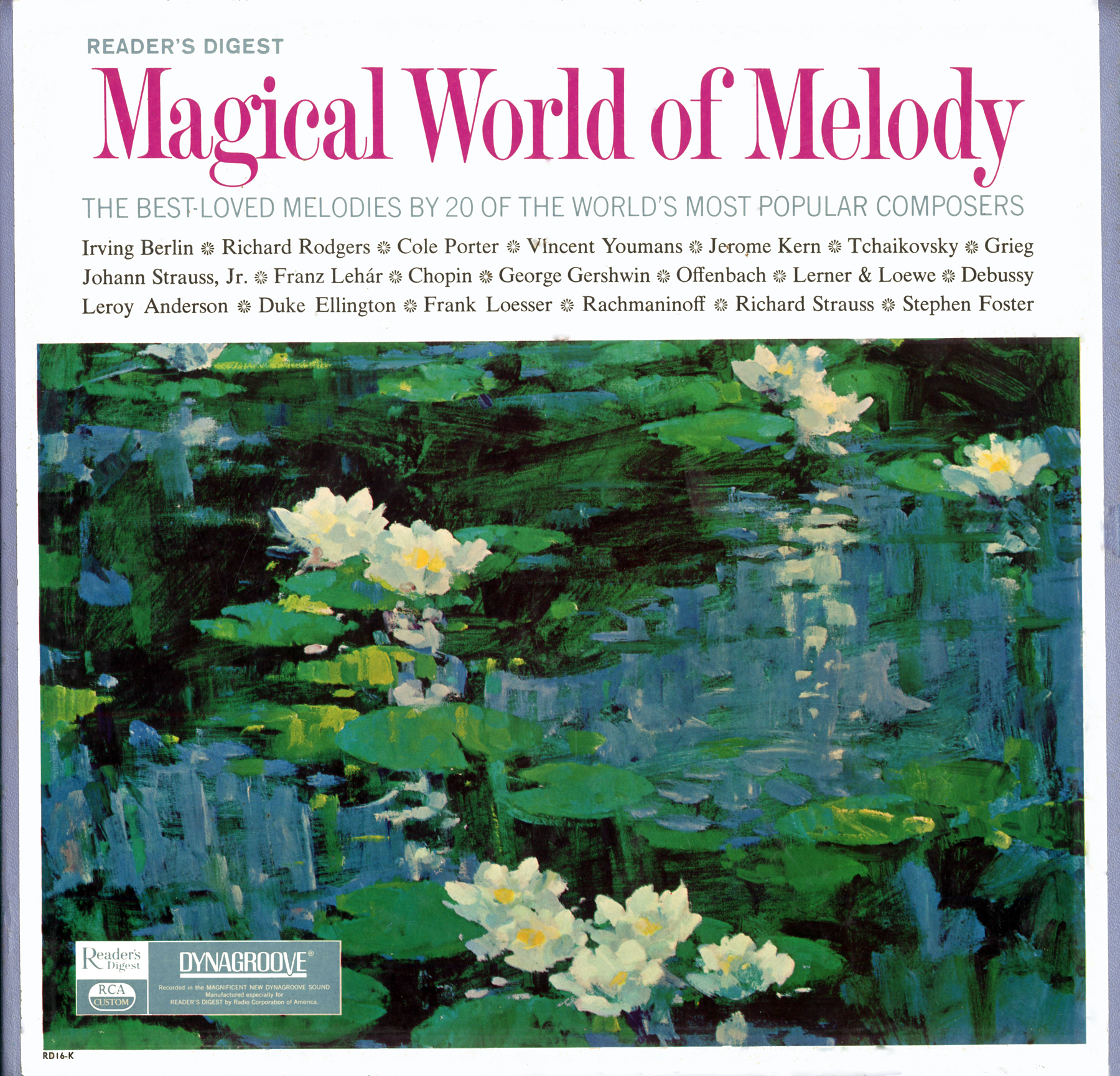 RD16k - Magical World Of Melody - RD16K on CD
