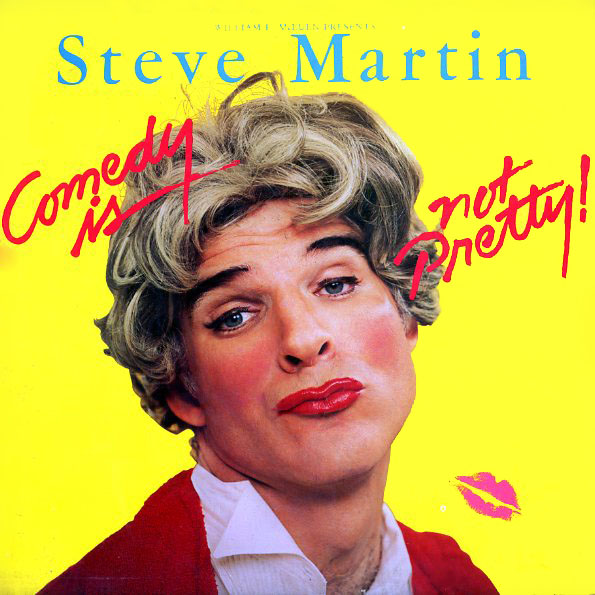 HS3392 - Martin, Steve - Comedy Is Not Pretty - on CD