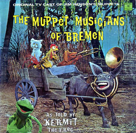CC24521 - Muppet Musicians of Bremen As Told By Kermit the Frog on CD