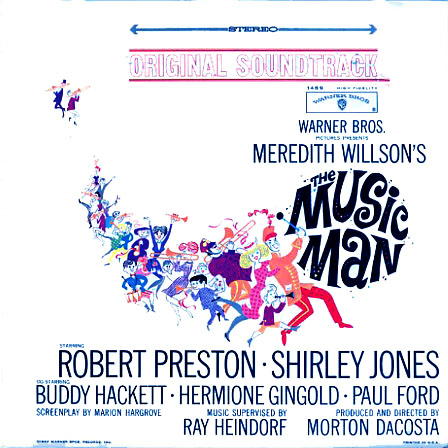 BS1459 - Music Man  Motion Picture Soundtrack on CD