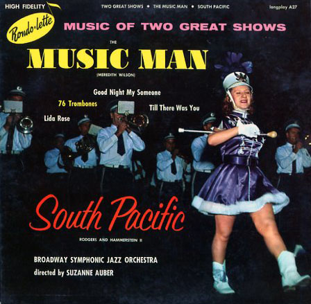 A27 - Music Man and South Pacific - Broadway Symphonic Jazz Orchestra on CD