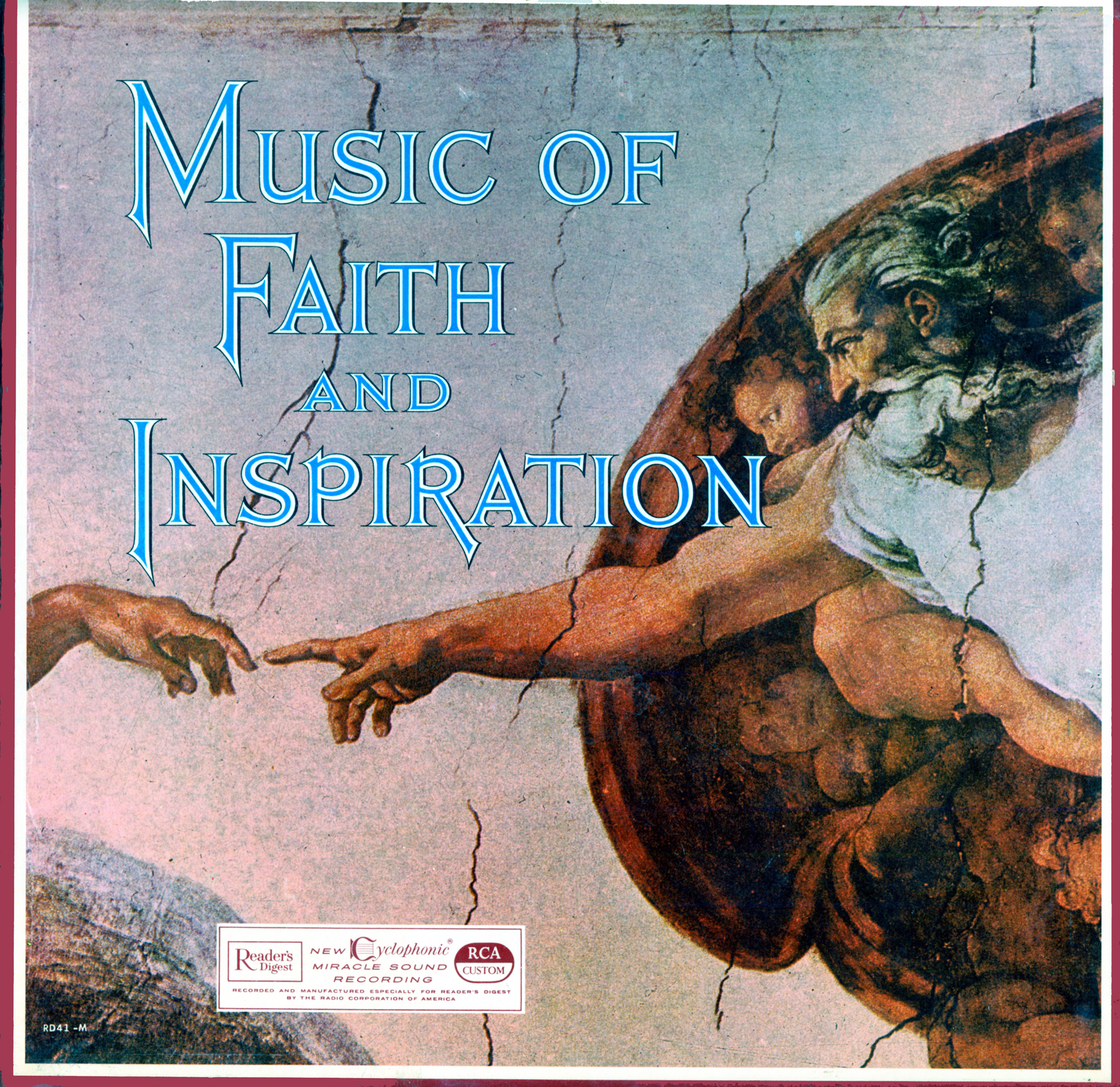 RD41 - Music Of Faith And Inspiration on CD