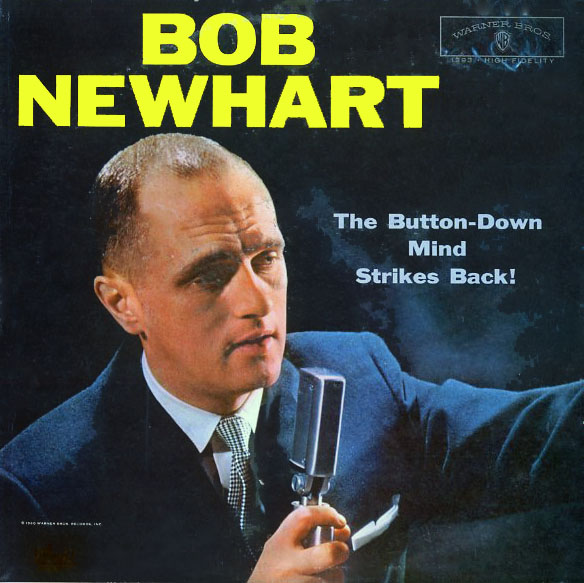 W13793 - Newhart, Bob - The Button Down Mind Strikes Back! - on CD
