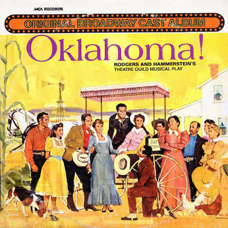 MCA2030, DL79017 - Oklahoma Broadway Soundtrack on CD