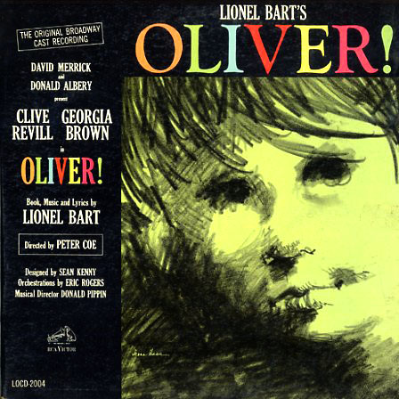 LOCD2004 - Oliver - Lionel Bart, David Merrick, Donald Albery on CD