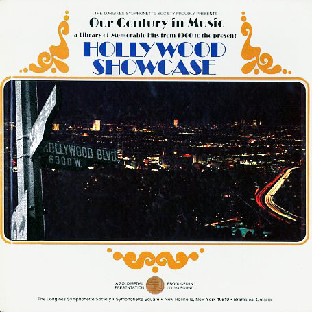 LWS1201 - OurCenturyInMusic-HollywoodShowcase on CD