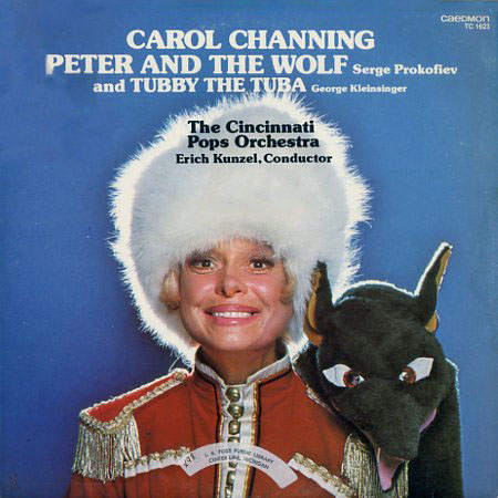 TC1623 - Peter and The Wolf, Tubby the Tuba - Carol Channing - Erich Kunzel - Cincinnati Pops Orchestra on CD