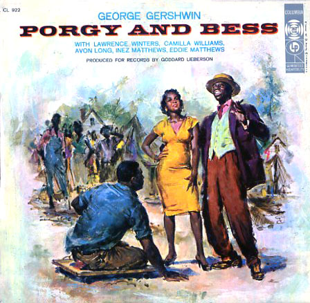 CL922 - Porgy and Bess on CD