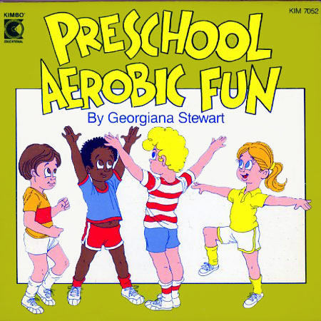 KIM7052 - Preschool Aerobic Fun on CD