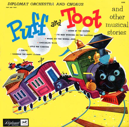 5005 - Puff And Toot and Other Musical Stories on CD
