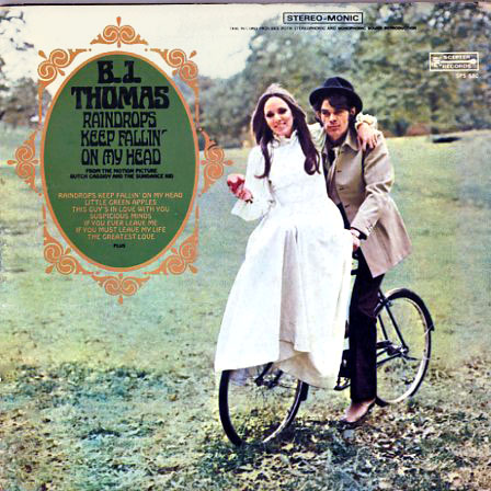 SPS580 - Raindrops Keep Falling on my Head - BJ Thomas on CD