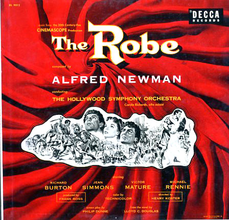 DL9012 - Robe - Alfred Newman on CD