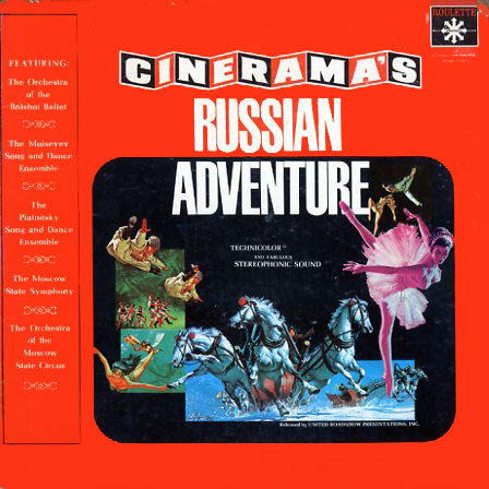 OS802 - Russian Adventure by Cinerama on CD