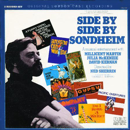 CBL21851 - Side By Side By Sondheim on CD