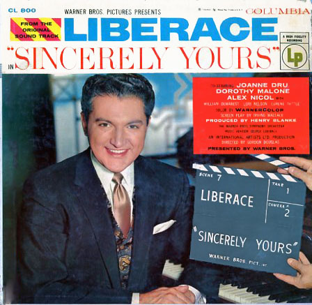 CL800 - Sincerely Yours - Liberace on CD