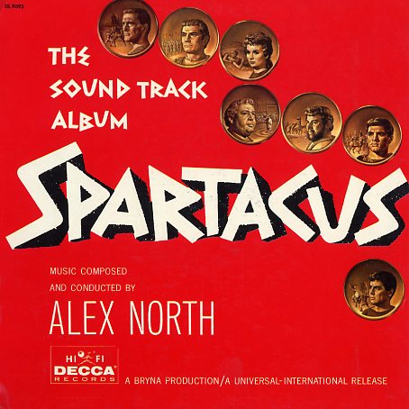 DL9092 - Spartacus - Soundtrack Album on CD