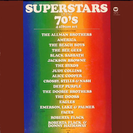 SP4000 - Superstars of the 70s on CD