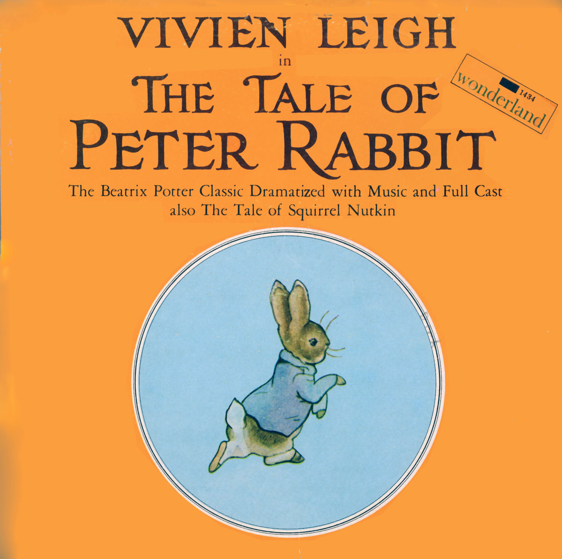 1434 - Tale of Peter Rabbit on CD