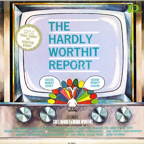 SP7053 - Taylor, Chip - Dennis Wholey - The Hardly-Worthit Report - on CD