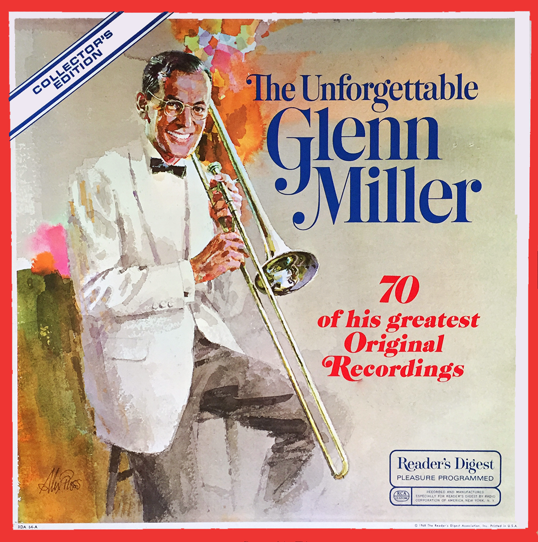 RDA64 - Unforgettable Glenn Miller on CD