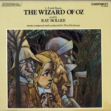 TC1512 - Wizard of Oz Read By Ray Bolger on CD