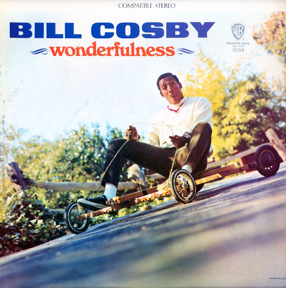 1634 - Cosby, Bill - Wonderfulness - on CD