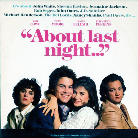 SV17210 - About Last Night Motion Picture Soundtrack on CD